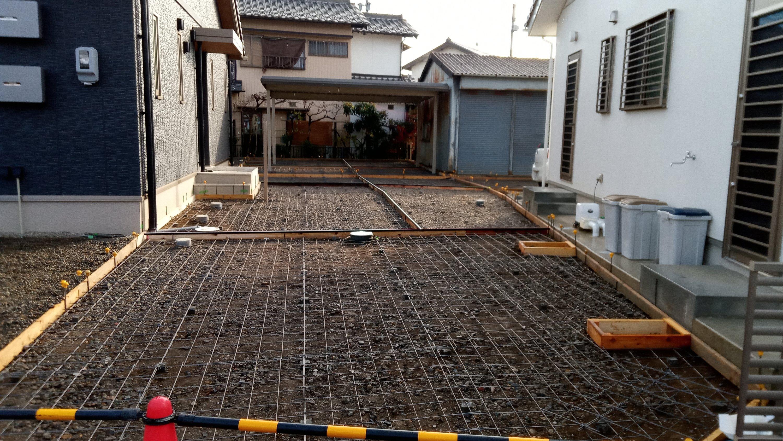 土間コンクリート その2